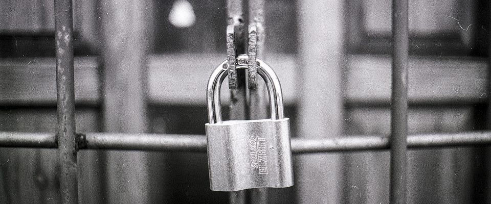 A padlock implying secure ssl